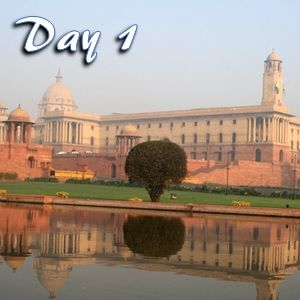 Day 1 in Delhi