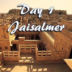 Day 1 in Jaisalmer
