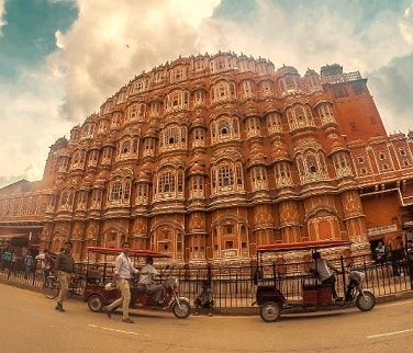 Hawa Mahal at Jaipur Rajasthan