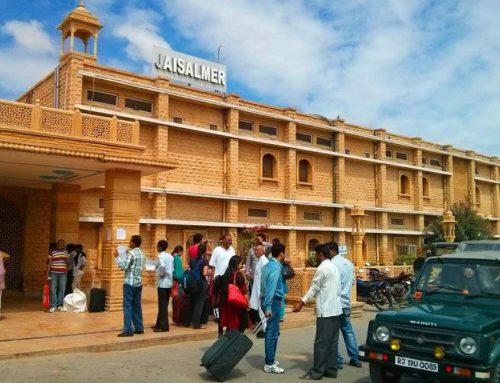 Catch a train for Jaisalmer from New Delhi