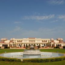 1. Taj Rambagh Palace exterior