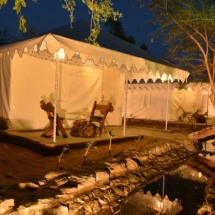12. Swiss Tent with Jacuzzi