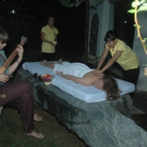 3. Spa session at cottage