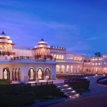 3. Taj Rambagh Palace exterior