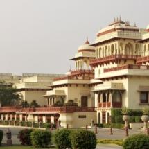 4. Taj Rambagh Palace exterior