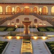 5. Taj Rambagh Palace exterior