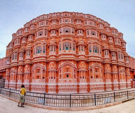 Hawa Mahal at Jaipur