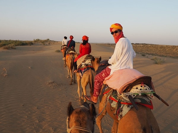 Image result for To Enjoy Camel Safari in Rajasthan