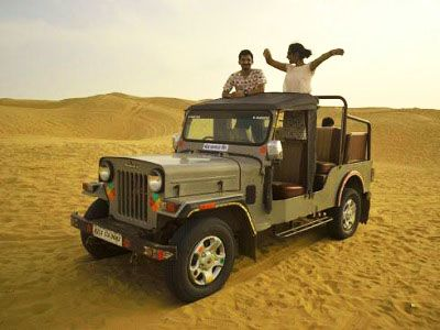 Jeep safari Jaisalmer