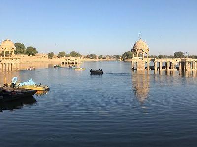 Garidar Lake Jaisalmer RJ