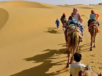 camel safari sam Jaisalmer