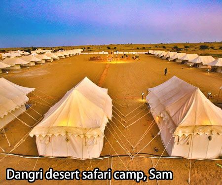 Dangri desert safari camp