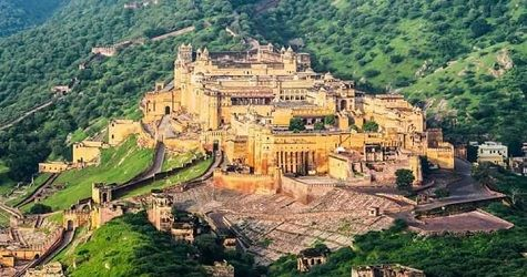 Amber Fort Jaipur view