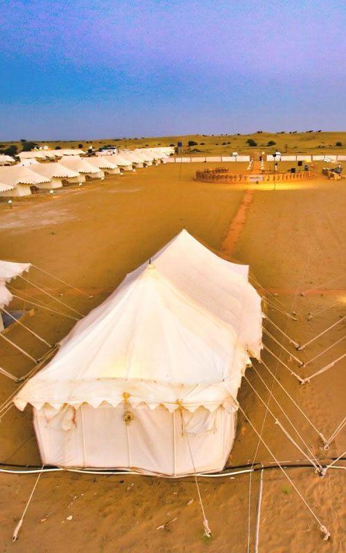 Desert camp at Sam Jaisalmer