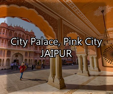 City Palace Jaipur RJ