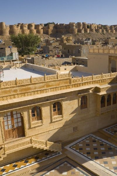 Jaisalmer Golden fort view