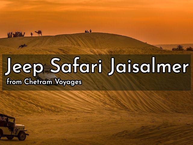 Jeep safari Jaisalmer rj